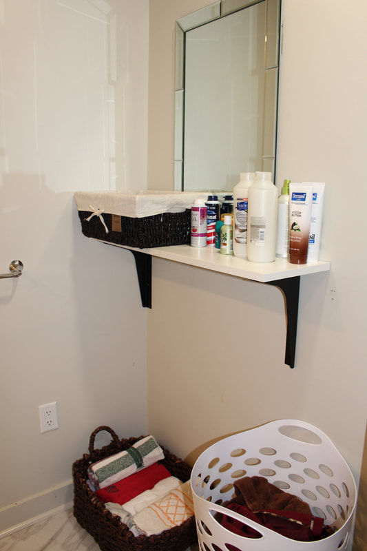 Drop-In Center Vanity Area